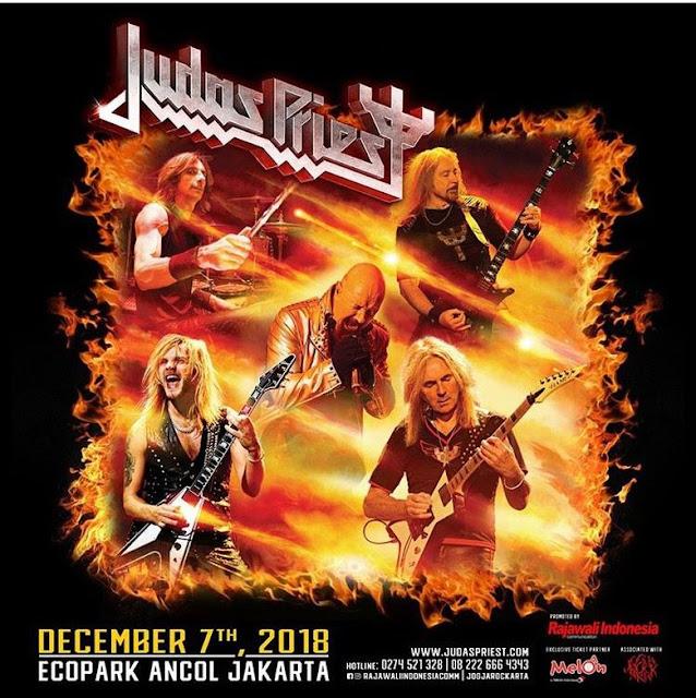 Promotor Harap Jokowi Penuhi Undangan Konser Judas Priest