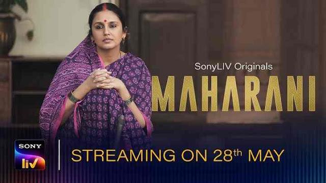 maharani sonyliv web series