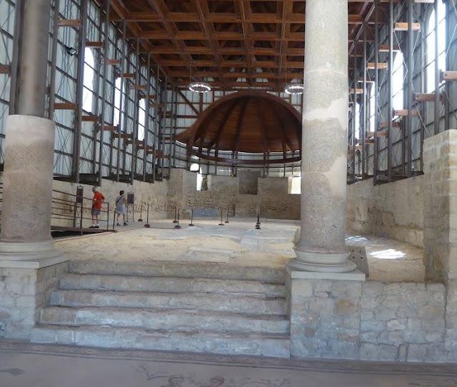 la basilica nella villa del casale di piazza armerina