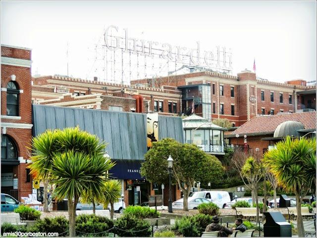 Letrero Ghirardelli en San Francisco