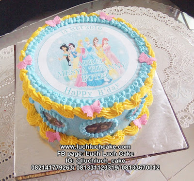 Birthday Cake Princess Disney