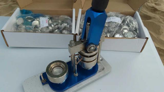 Máquina para fabricar chapas