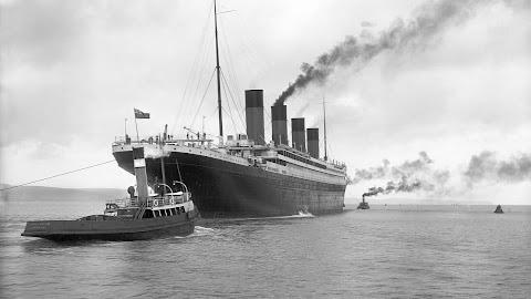 A photo of the Titanic