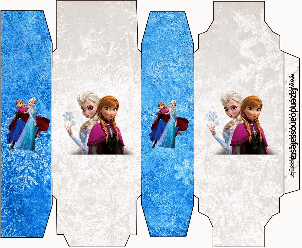 Cajas de Frozen para imprimir gratis