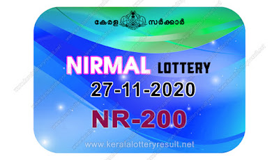 kerala lottery result, kerala lottery kl result, yesterday lottery results, lotteries results, keralalotteries, kerala lottery, keralalotteryresult, kerala lottery result live, kerala lottery today, kerala lottery result today, kerala lottery results today, today kerala lottery result, Nirmal lottery results, kerala lottery result today Nirmal, Nirmal lottery result, kerala lottery result Nirmal today, kerala lottery Nirmal today result, Nirmal kerala lottery result, live Nirmal lottery NR-200, kerala lottery result 27.11.2020 Nirmal NR 200 27 November 2020 result, 27 11 2020, kerala lottery result 27-11-2020, Nirmal lottery NR 200 results 27-11-2020, 27/11/2020 kerala lottery today result Nirmal, 27/11/2020 Nirmal lottery NR-200, Nirmal 27.11.2020, 27.11.2020 lottery results, kerala lottery result November 27 2020, kerala lottery results 27th November 2020, 27.11.2020 week NR-200 lottery result, 27.11.2020 Nirmal NR-200 Lottery Result, 27-11-2020 kerala lottery results, 27-11-2020 kerala state lottery result, 27-11-2020 NR-200, Kerala Nirmal Lottery Result 27/11/2020