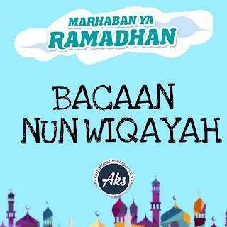 Bacaan Nun Wiqayah