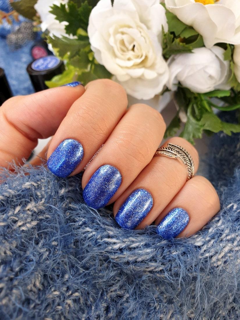 Evening Star NeoNail swatche na paznokciach, blog, opinie