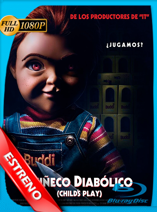 Muñeco Diabólico (2019) HD 1080p Latino Dual [GoogleDrive] [Cespa92]
