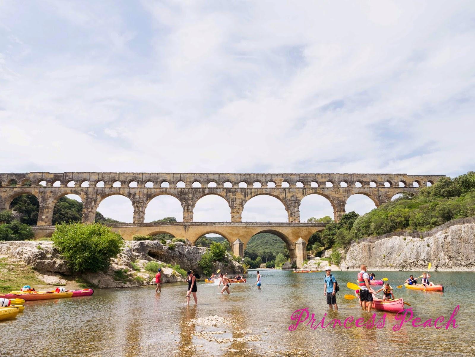 嘉德水道橋-Pont-du-Gard