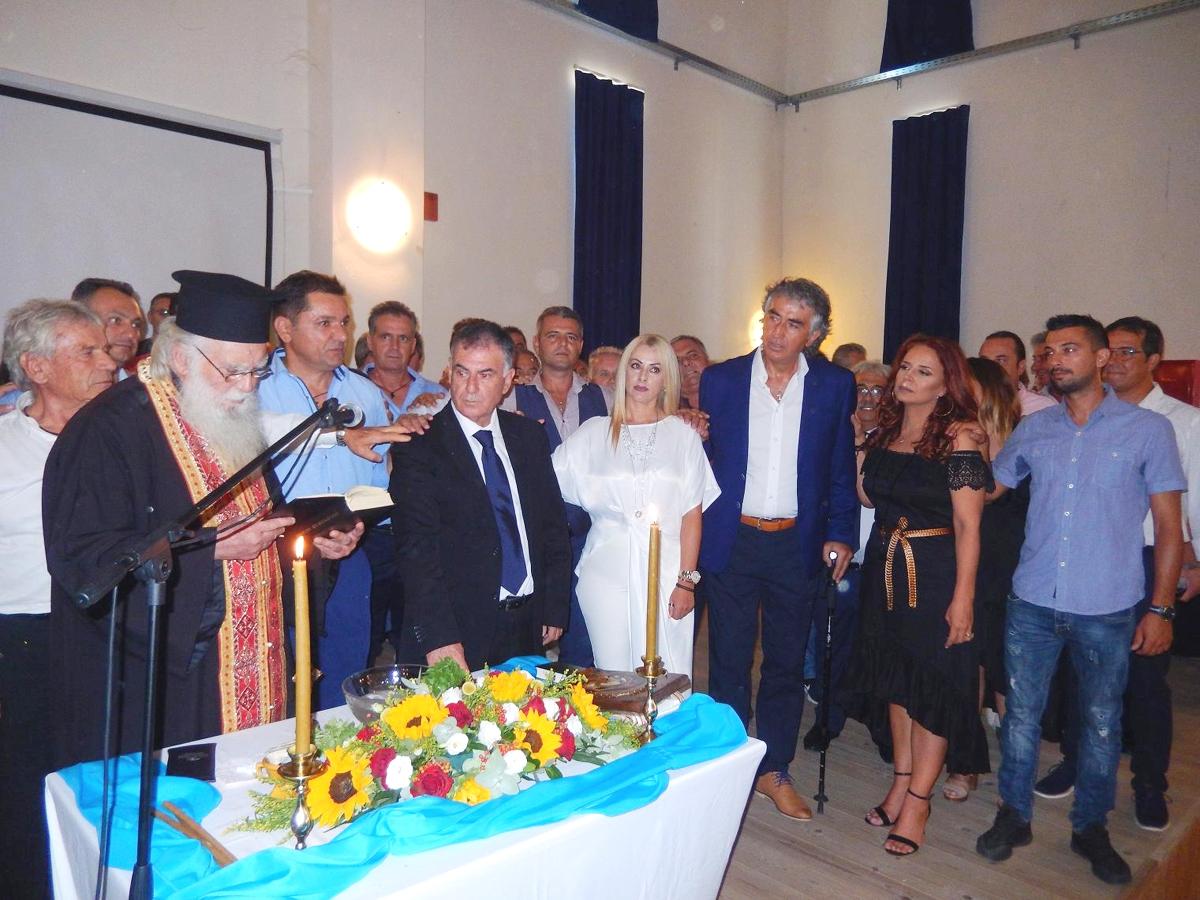 Ορκίστηκε η νέα Δημοτική Αρχή του Δήμου Σιθωνίας