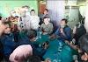 Bupati dan Wakil Bupati Rohil Terpilih Kunjungi Pajak Lama Yang Terbakar