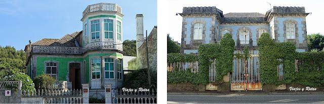 Casas indianas de La Guardia, Pontevedra