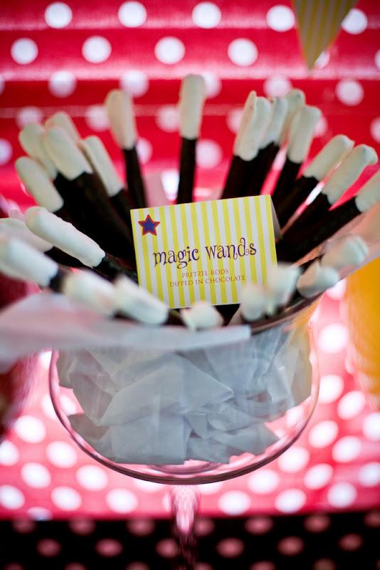 Kara's Party Ideas Magic Themed 3rd Birthday Party  Kara