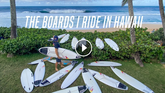 SURFBOARD TESTING IN HAWAII