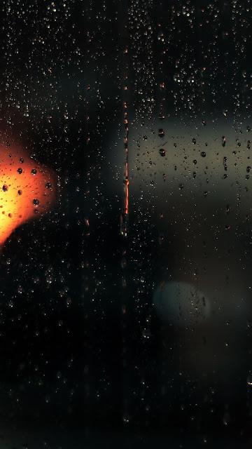 Wallpaper, Glass, Water Drops, Macro, Rain