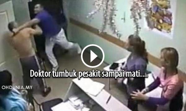 Video: Rakaman Pesakit Mati Ditumbuk Doktor, Viral Di Media Sosial