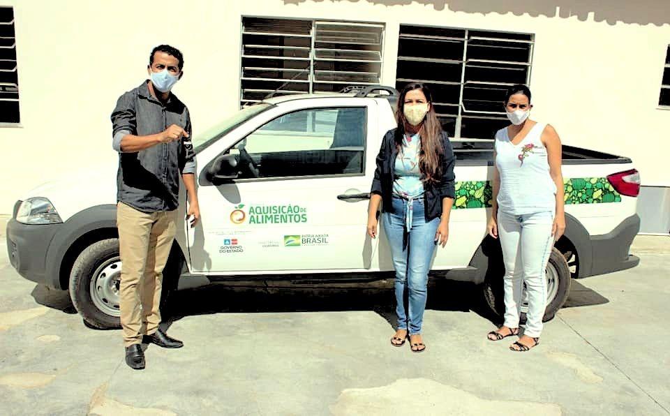 Guajeru recebe veículo e equipamentos para fortalecer Programa de Aquisição de Alimentos