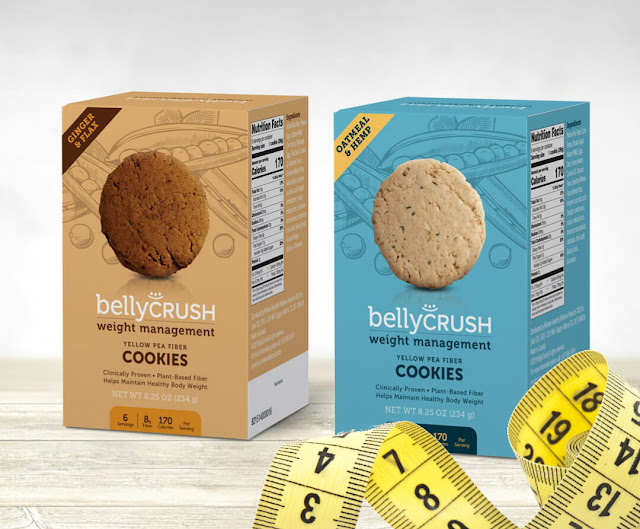 Review of belly crush yellow pea fiber snacks by barbies beauty bits