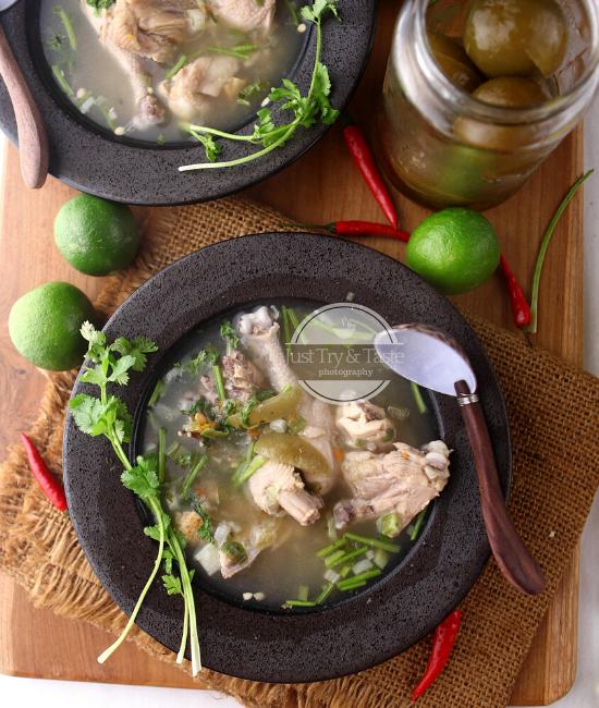 Resep Sup Ayam ala Kamboja