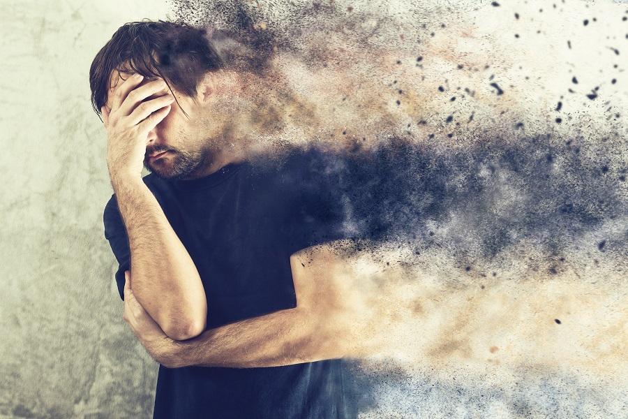 A luta diária de ter que lidar com pensamentos e sentimentos negativos