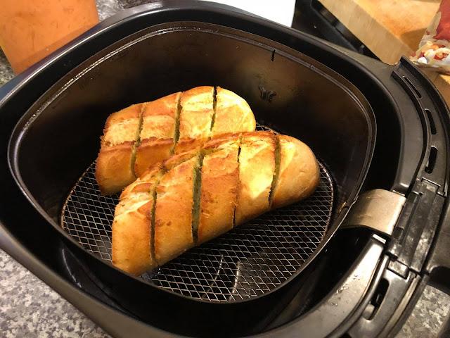 Airfryer Garlic Bread