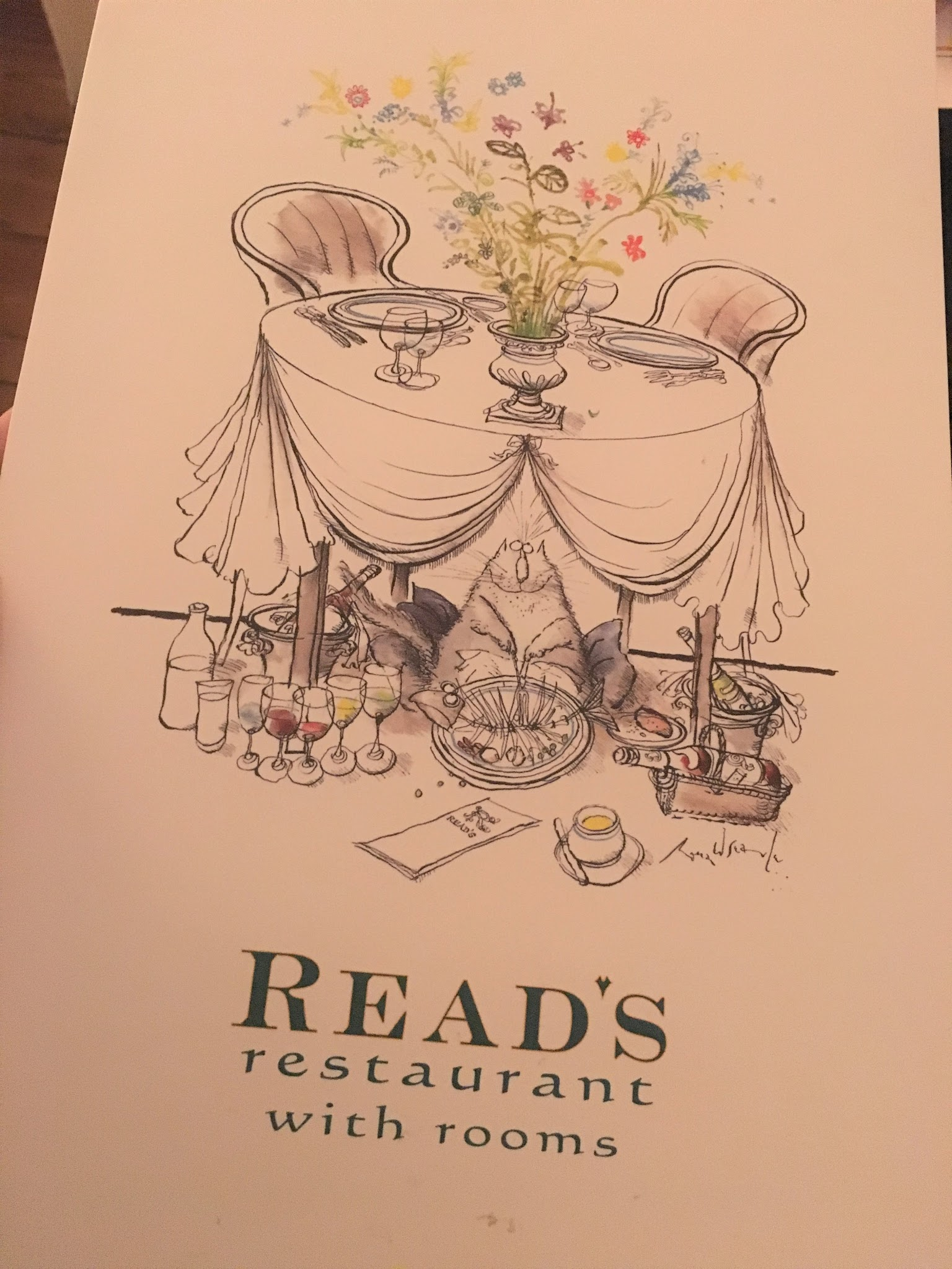 The Tasting Menu at Read's Restaurant, Kent