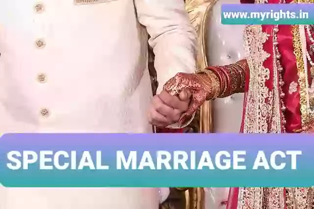 The Special Marriage Act, 1954