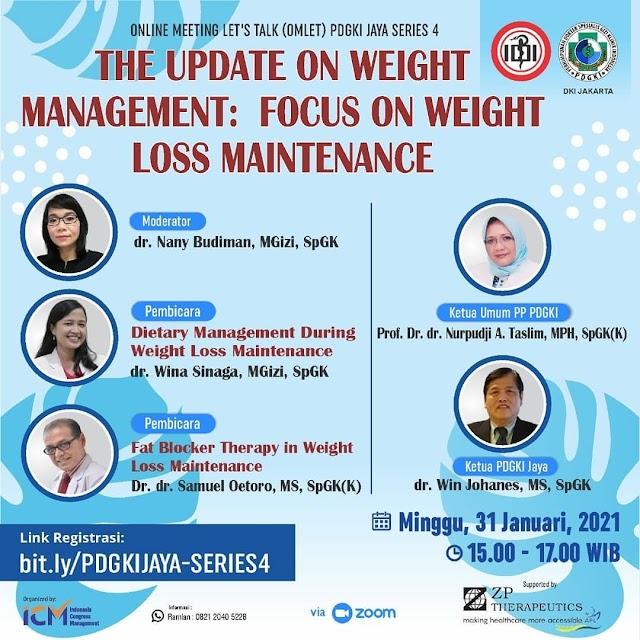 Gratis SKP IDI The Update on Weight Management: Focus on Weight Loss Maintenance