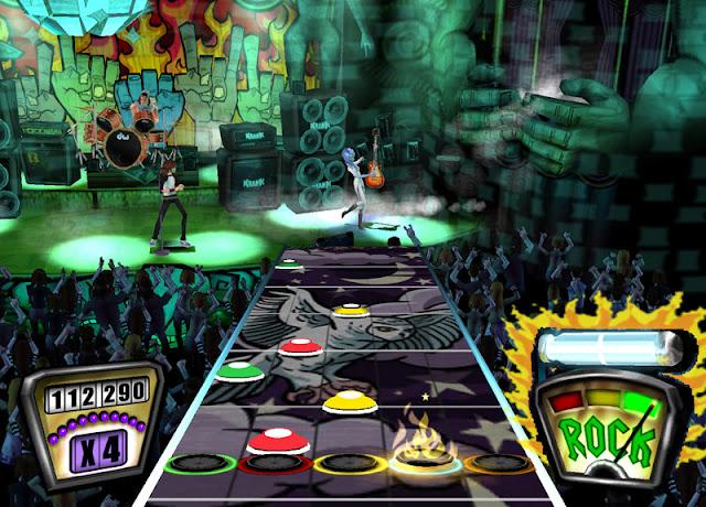 Guitar Hero II PS2 GAME ISO Screenshot 2