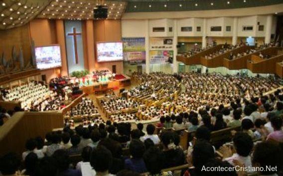 Mega iglesia Yoido en Corea del Sur