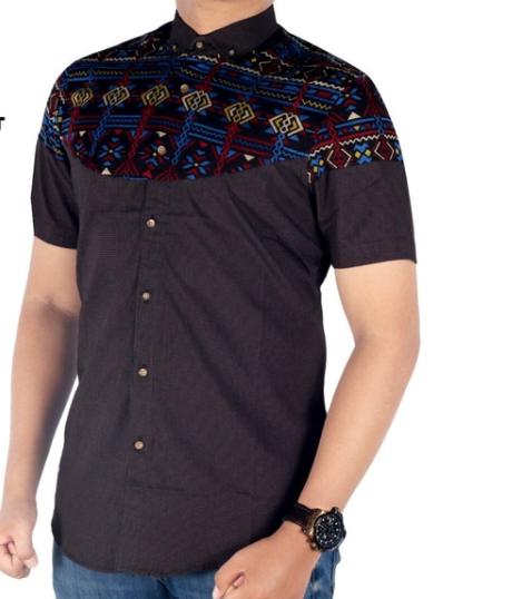 Busanamuslim Model Model Baju Batik Pria Lengan Pendek Kekinian