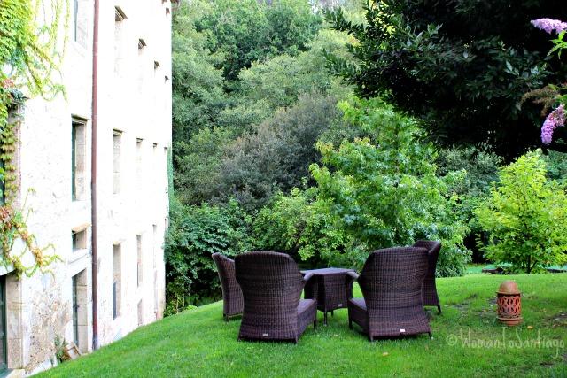 foto jardin a quinta da auga