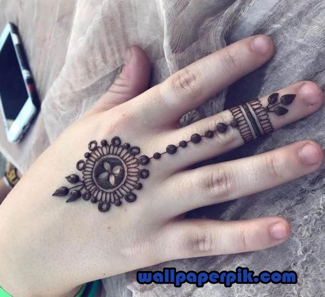 mehndi design photo full hand