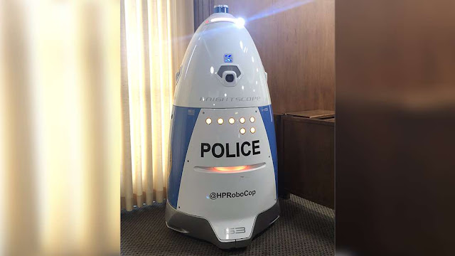 Californian RoboCop Had To Deal With Its First Crime, And It Did Not Go Well