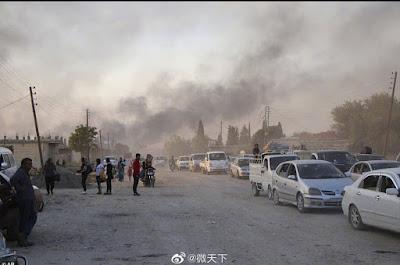 Turkey Mulai Menghadapi Operasi Militer Suriah (Turki melancarkan serangan udara)