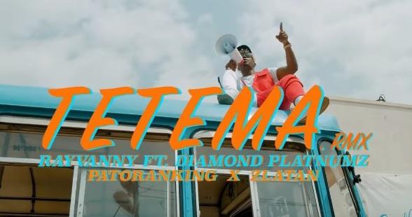 """[Video] Rayvanny – """"Tetema Remix"""" ft. Patoranking, Zlatan, Diamond Platnumz [Mp4 Download]"""