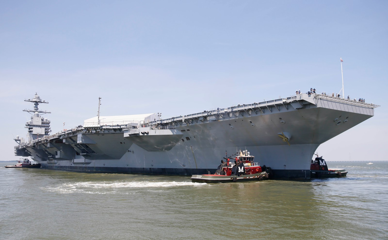 paul davis on crime aircraft carrier gerald r ford heads to sea