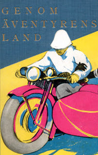 """Book cover of """"Through the Land of Adventure."""""""