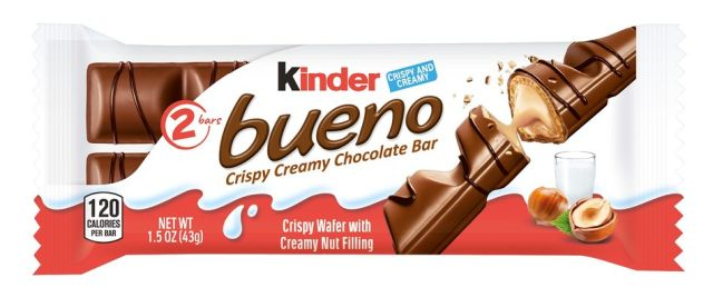 Kinder Bueno Candy Bars Arrive in Stores | Brand Eating