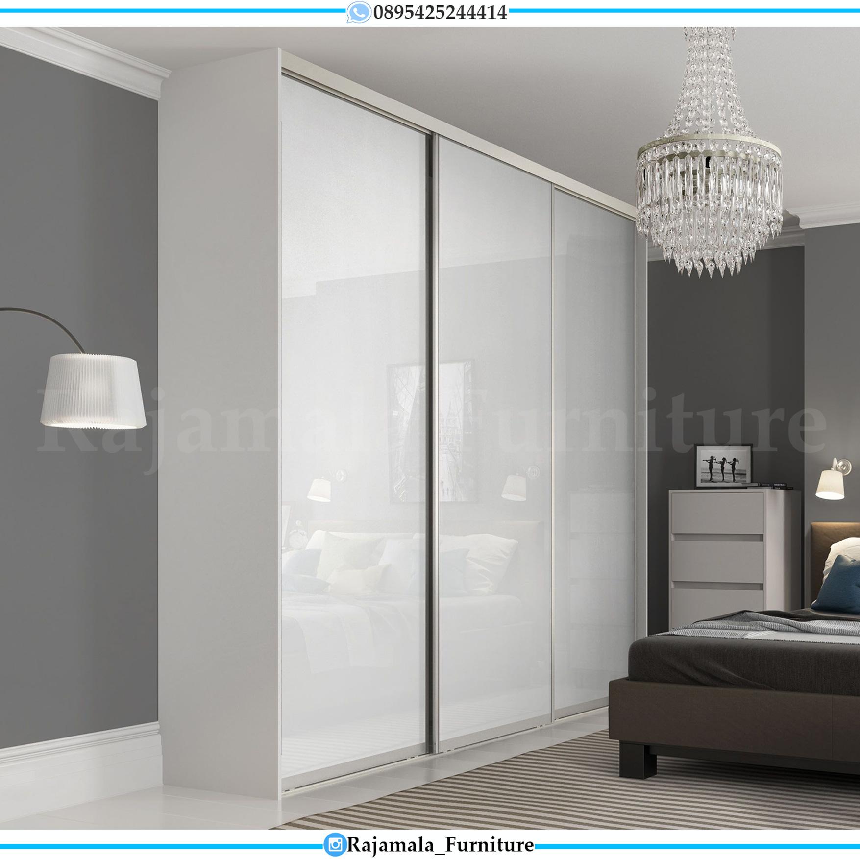 Lemari Baju Minimalis Simple Design New Mebel Jepara Terlaris RM-0039