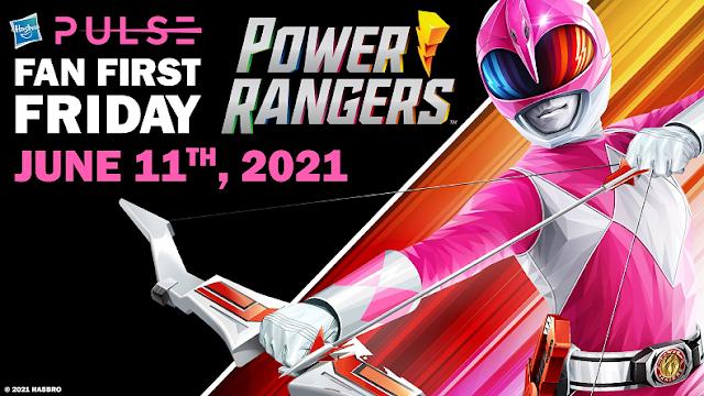 Fan First Friday acontece dia 11 de Junho com novidades de Power Rangers