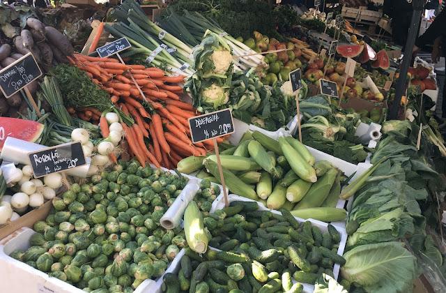farmer's market, torvehallerne, copenhagen