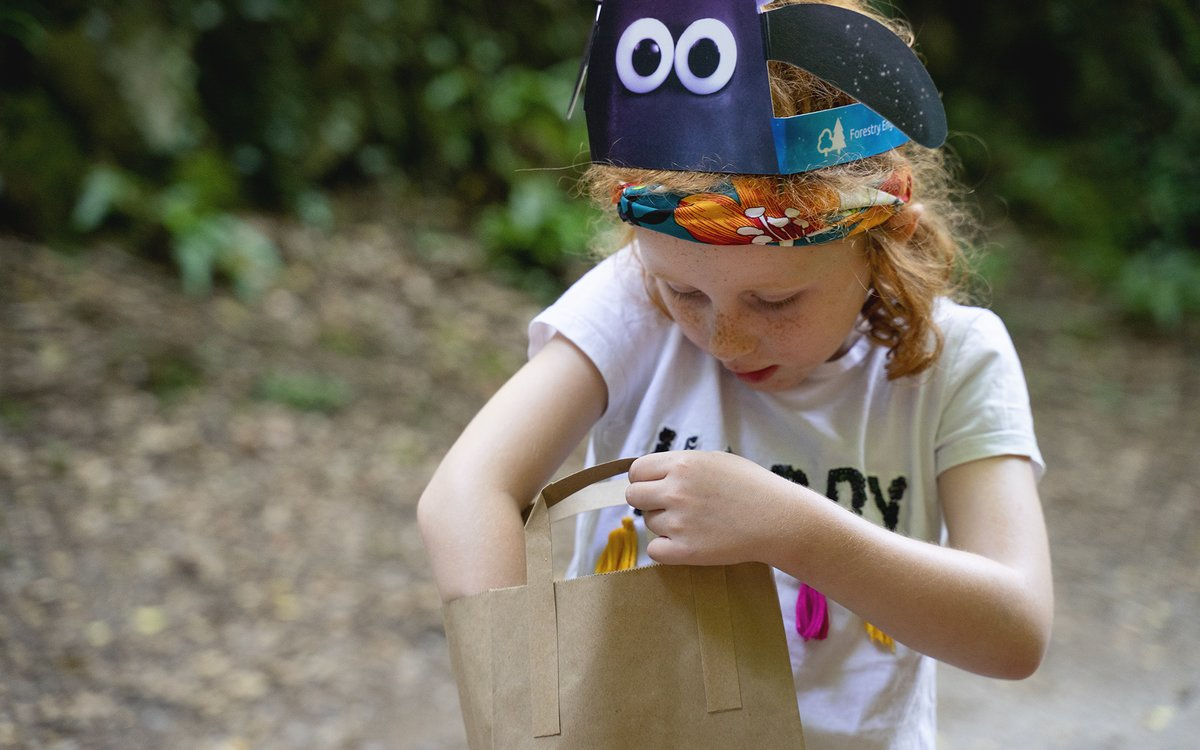 Shaun the Sheep Farmageddon Glow Trail at Hamsterley Forest - Top Tips for Visiting  - Shaun the sheep ears and activity pack