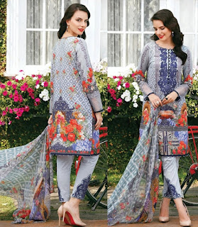 Chantelle Embroidered Lawn Collection 2017 Vol 2 by Baroque
