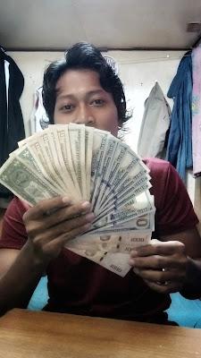 Dollar US - bonus cargo reefer trip pertama