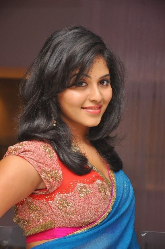 Tamilcinestuff   Actress Anjali Cute Saree Photoshot -9719
