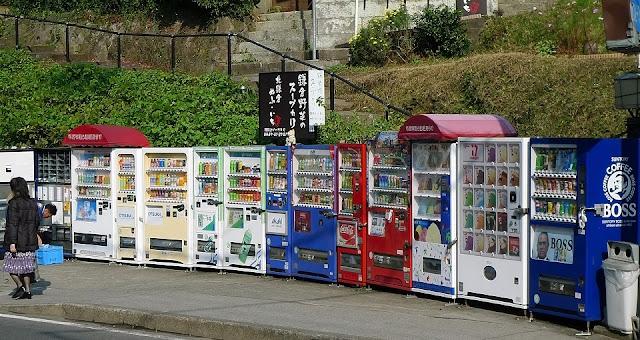Máy bán hàng tự động như một tiệm bách hoá thu nhỏ
