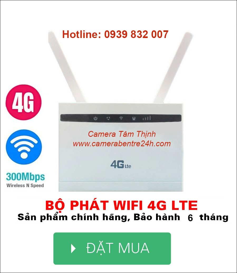 phát wifi 4G tại Bến Tre