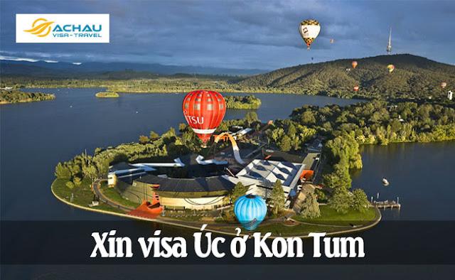 Xin visa Úc ở Kon Tum
