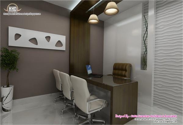 Interior design office cabin photos for Small office interior ideas